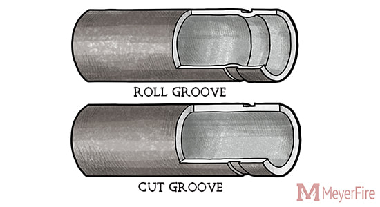 Roll vs Cut Groove Fire Sprinkler Pipe