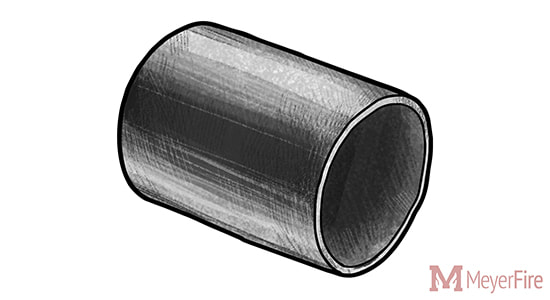 Black Steel Plain End Pipe