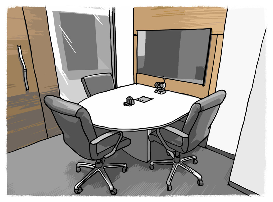 Collaboration Room, Business Occupant Load Factor